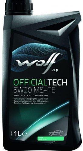 WOLF OFFICIALTECH 5W20 MS FE 1L 0