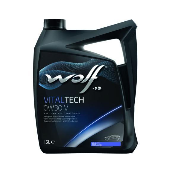 WOLF VITALTECH 0W30 V 5L 0