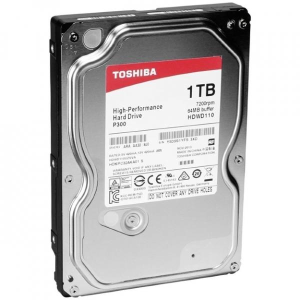 """HDD intern Toshiba, P300, 3.5"""", 1TB, SATA3, 7200rpm, 64MB 1"""