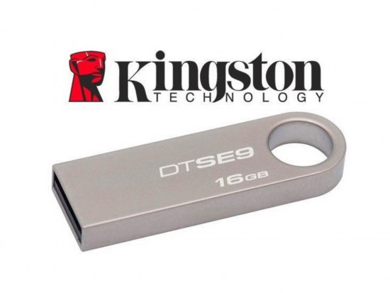 Memory stick USB 2.0 Kingston DataTraveler DTSE9H 16 GB metalic, fara capac 0