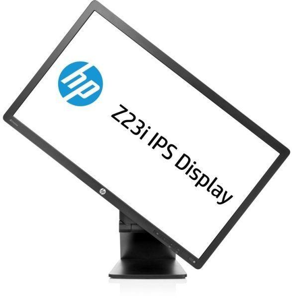HP Z23i, 23 inch IPS LED, 1920 x 1080 Full HD, 16:9, displayport, negru, monitor second-hand 0
