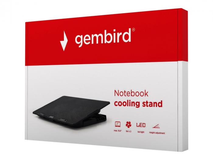 GEMBIRD NBS-2F15-02 Gembird Notebook cooling stand 0