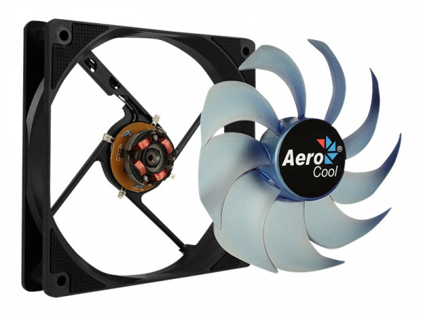 AEROCOOL AEROMOTION-12PLUSBL AEROCOOL MOTION 12 PLUS BLUE Ventilator 120x120x25mm 1