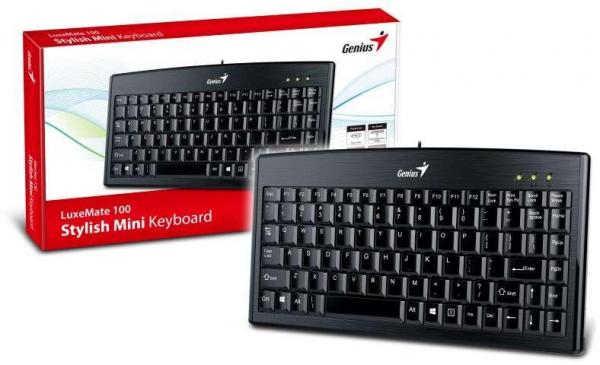 Tastatura Genius LuxeMate 100, USB, neagra 0