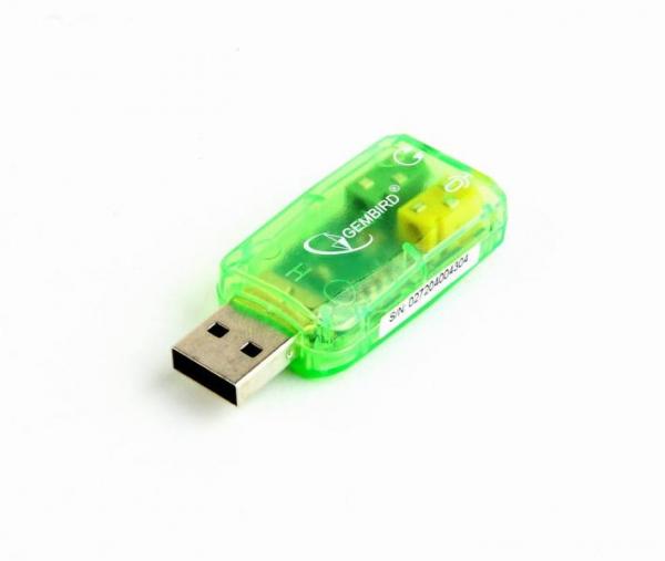 Placă de sunet GEMBIRD SC-USB-01 0