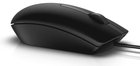 Mouse optic Dell MS116, Negru 0