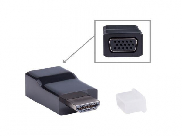 GEMBIRD A-HDMI-VGA-001 Gembird adaptor HDMI-A(M)->VGA (F) 0