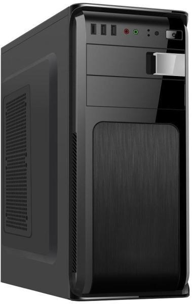 GEMBIRD CCC-FC-120 Gembird ATX case Fornax 120, USB 3.0, black 0