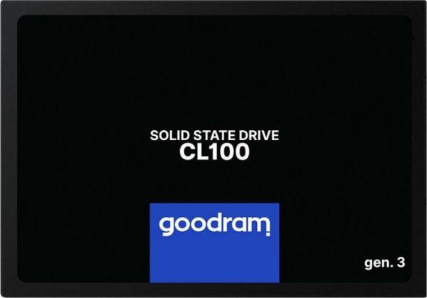"SSD Goodram, CL100, 240GB, 2.5"", SATA III (6 GB/s), R/W speed: up to 520MB/400 MB/s 1"
