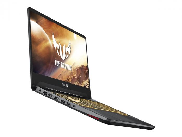 ASUS FX505DT AMD Ryzen 7 3750H 15.6inch FHD 8GB 512GB M.2 NVMe PCIe 3.0 SSD GeForce GTX 1650 NO OS 2Y Stealth Black 1