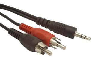 GEMBIRD CCA-458-20M Gembird cablu audio stereo (3.5 mm jack la 2 x RCA) 20M 0