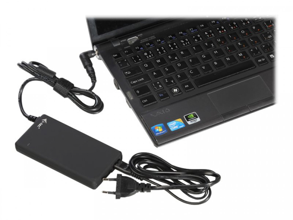 ITEC SLPA90W Adaptor alimentare i-tec Advance Ultra Slim 90W 1x port USB cu 10 conectori 1