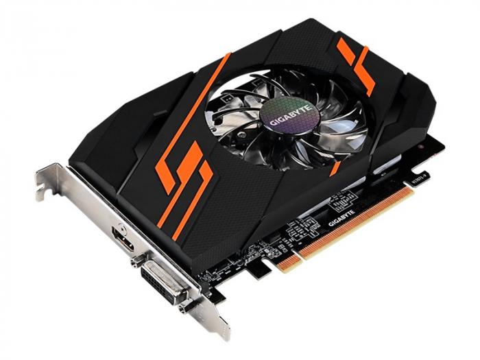 Placa video GV-N1030OC-2GI Gigabyte GeForce GT 1030 OC 2G, 2GB GDDR5 2