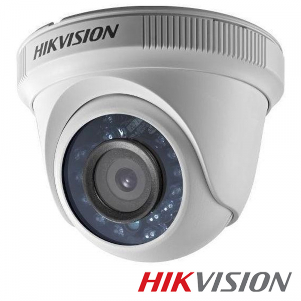 Camera de supraveghere Hikvision Turbo HD Dome Turret, DS-2CE56D0T-IRPF (2.8mm) 0