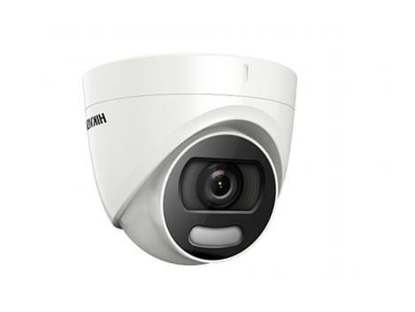 Camera de supraveghere Turret Turbo HD Hikvision DS-2CE72DFT-F 3.6 mm, 2 MP, IR 20 m, ColorVu 0