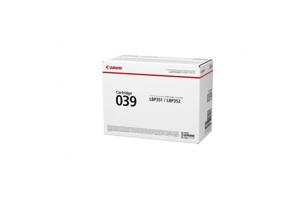 CANON CRG039 TONER CARTRIDGE  BLACK 0