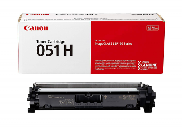 CANON CRG051H TONER CARTRIDGE  BLACK 0