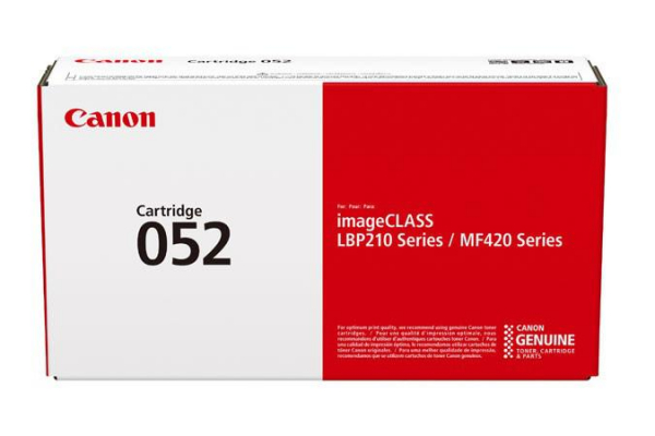 CANON CRG052 TONER CARTRIDGE  BLACK 0