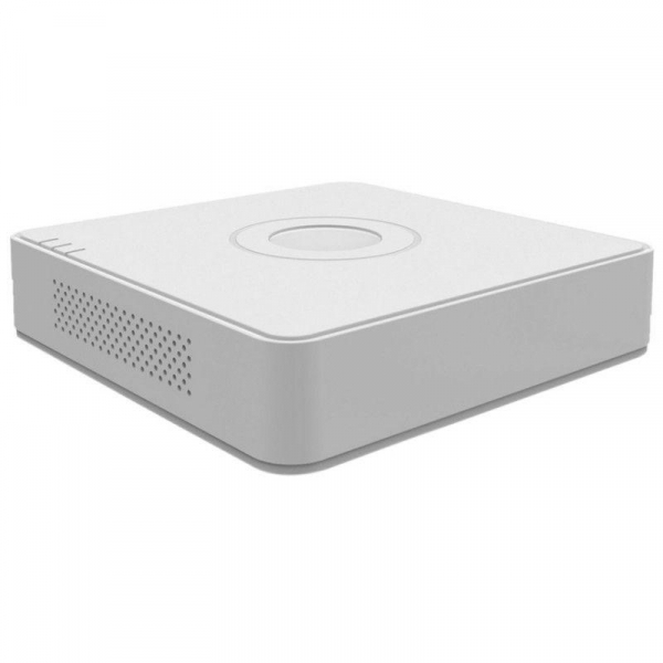 DVR 4 canale Turbo HD Hikvision DS-7104HGHI-F1(S); 2MP; inregistrare 4 canale audio si video over coaxial, pentru camere TurboHD cu audio over coaxial, compresie: H.264+/H.264; inregistrare: 1080p lit 0