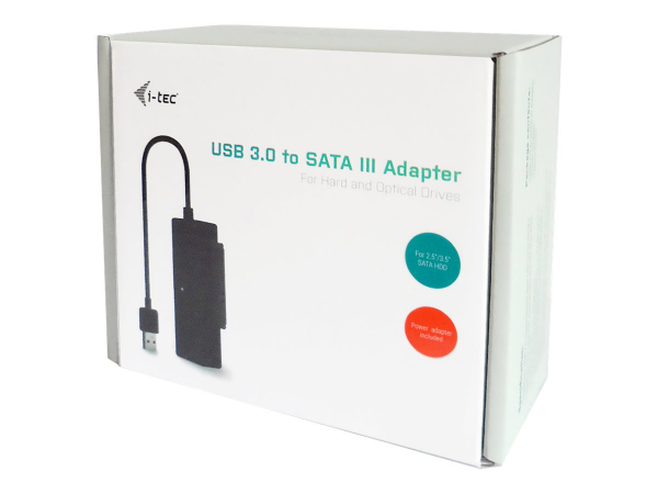 i-tec USB 3.0 to SATA III Adapter 0