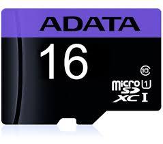 Micro Secure Digital Card ADATA 16Gb, AUSDH16GUICL10-R ,Clasa 10 (pentru telefon) [0]
