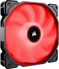 Ventilator Corsair Air Series AF120, 120mm, LED Red, Quiet Edition High Airflow 0