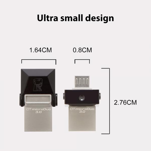 Memorie USB Kingston DataTraveler MicroDuo, 32GB, USB 3.0, OTG 0