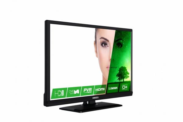 """LED TV 24"""" HORIZON HD 24HL7120H /Black 1"""