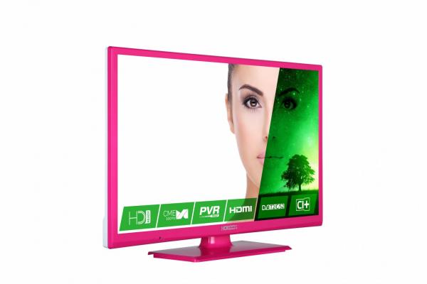 "LED TV 24"" HORIZON HD 24HL7122H /Pink 1"