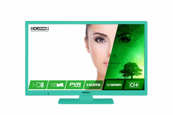 "LED TV 24"" HORIZON HD 24HL7123H /Blue 0"