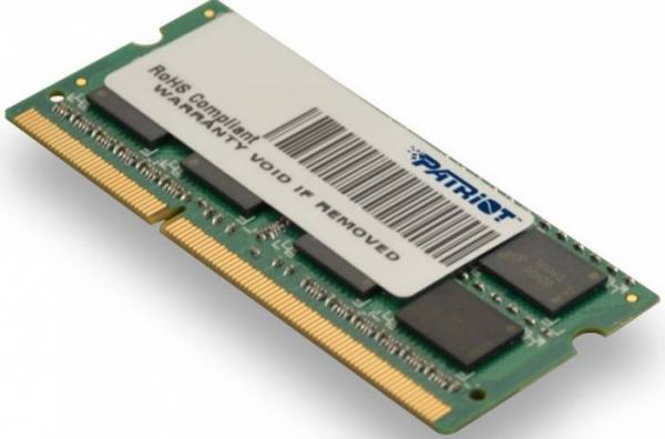 Memorie Patriot 8GB SODIMM, DDR3, 1600MHz, CL11, 1.5V 0