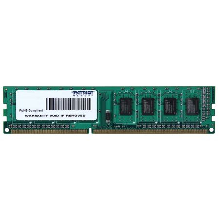 Memorie Patriot 4GB DIMM, DDR3, 1600MHz, CL11, 1.5V 0
