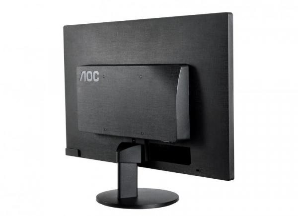 "Monitor 19.5"" AOC E2070SWN, HD+, TN , 16:9, WLED, 5 ms, 200 cd/m2, 90/50, 20M:1, VGA, VESA, Kensington lock, Black 1"