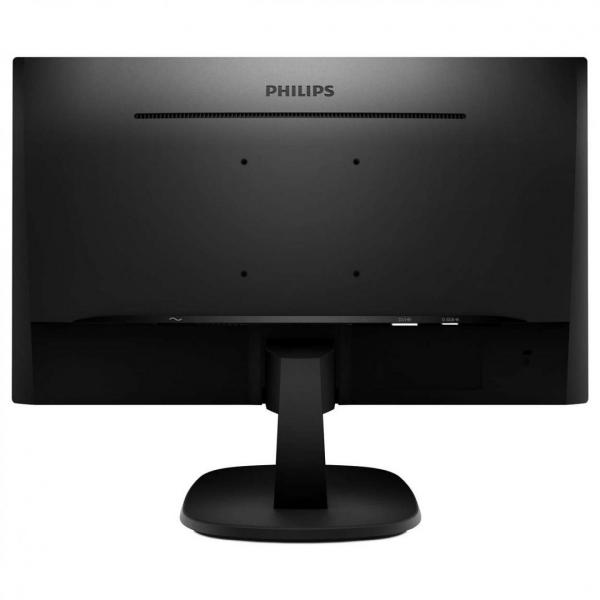 "Monitor 23.8"" PHILIPS 243V7QSB, FHD, IPS, 16:9, 1920*1080, 60hz, WLED, 8 ms, 250 cd/m2, 178/178, 10M:1/ 1000:1, Flicker-free, Low blue light, VGA, DVI, VESA, Kensington lock, Black    1"