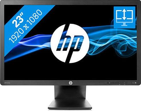 HP Z23i, 23 inch IPS LED, 1920 x 1080 Full HD, 16:9, displayport, negru, monitor second-hand 2