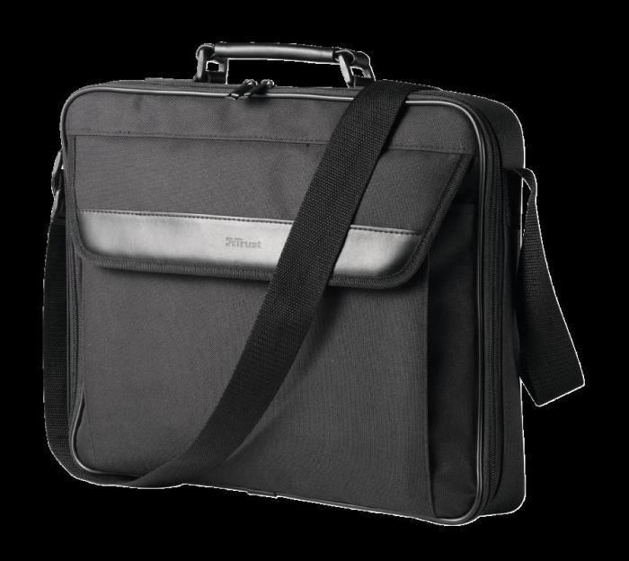 "Geanta Trust Atlanta Carry Bag 16"" laptop black 0"