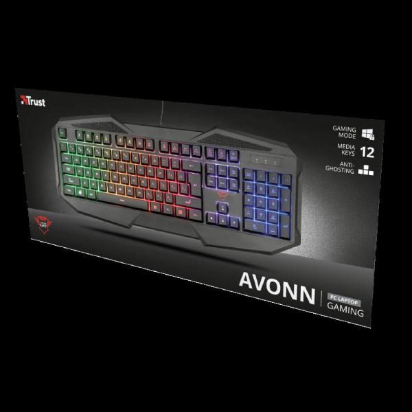 Tastatura Trust GXT 830-RW Avonn Gaming Keyboard 2