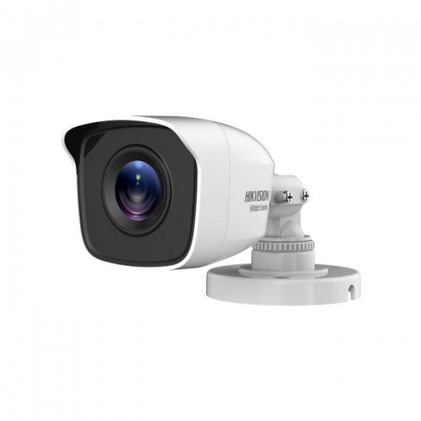 Camera de supraveghere Hikvision Turbo HD Bullet HWT-B120-P; 2MP; seria HiWatch; 2MP CMOS Sensor, 20m IR, Outdoor EXIR Bullet, ICR, 0.01 Lux/ F1.2, 12 VDC, Smart IR, DNR, OSD Menu, IP66, 2.8mm Lens, S 0