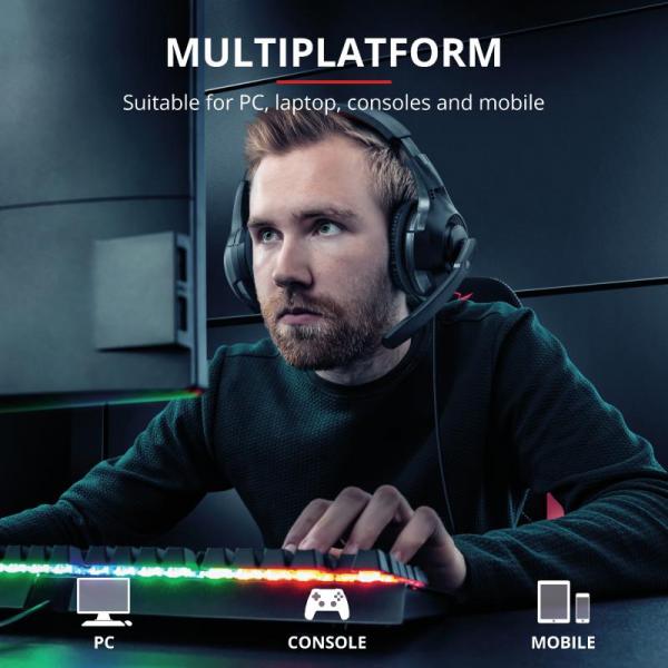 Casti cu microfon Trust GXT 307 Ravu Gaming Headset 1
