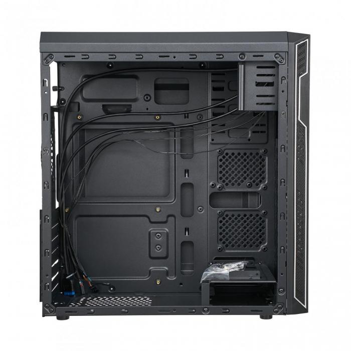 Carcasa PC Serioux OFFICE, fara sursa, Middle Tower, Format placă de bază: ATX / micro ATX / ITX [1]
