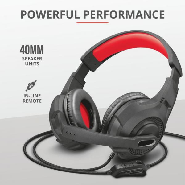 Casti cu microfon Trust GXT 307 Ravu Gaming Headset 2