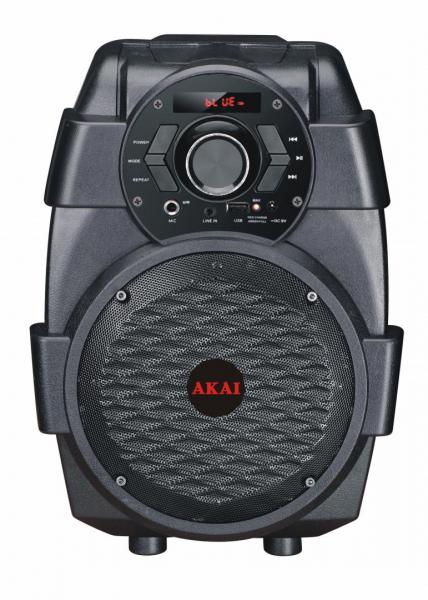 Boxa portabila AKAI ABTS-806, Bluetooth, Negru [0]