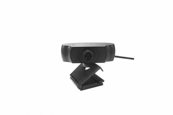 Camera web Serioux Full HD 1080p, chipset SONIX 2279+ 2053, microfon incorporat, rata cadre 30fps, rezoluție maximă video 1920*1080, format video MJPG / YUY2, senzor CMOS 2.0 Mega pixeli pentru imagin 3
