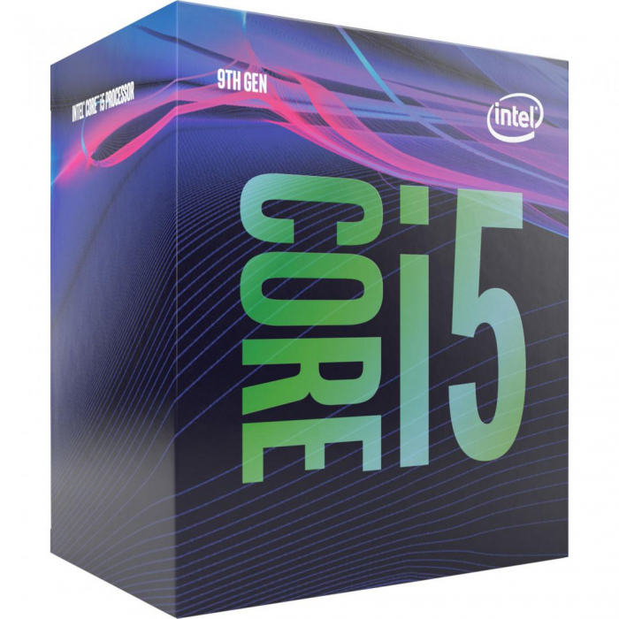 Procesor Intel Core i5-9400 Coffee Lake, BX80684I59400, LGA 1151 ,9MBSmartCache, 6 cores, 2.9GHz up to 4.10 GH 0