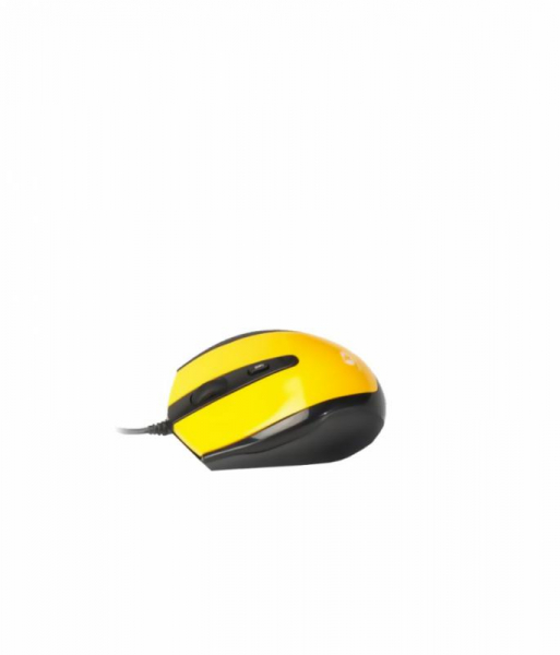 Mouse Serioux cu fir, optic, Pastel 3300, 1000dpi, galben, ambidextru, blister, USB 0