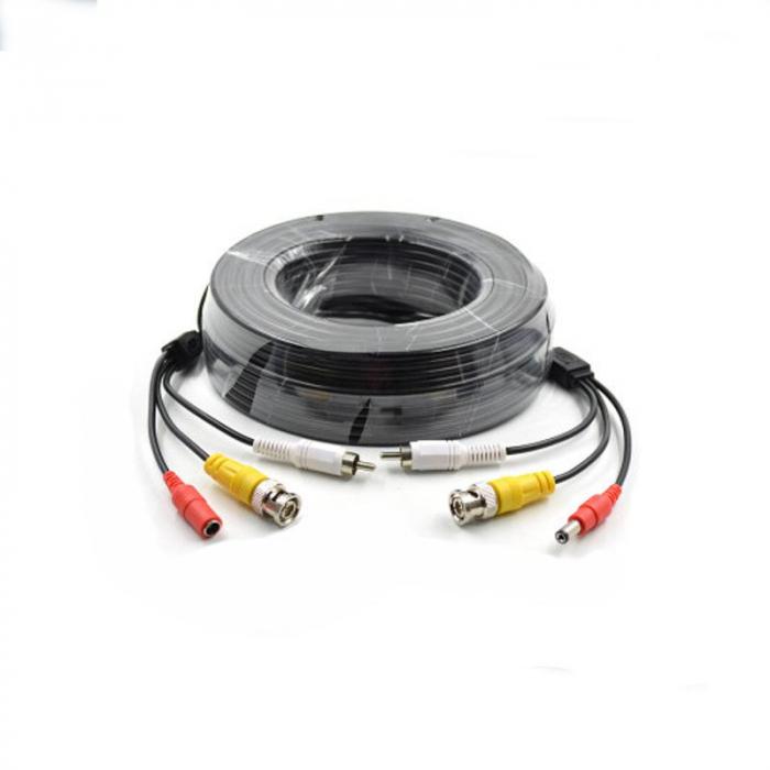 Cablu video cu alimentare si  audio 30 metri LN-EC04-30M-AUDIO 0