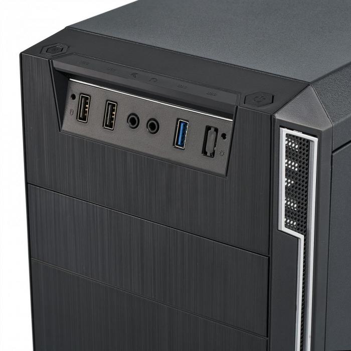Carcasa PC Serioux OFFICE, fara sursa, Middle Tower, Format placă de bază: ATX / micro ATX / ITX [2]