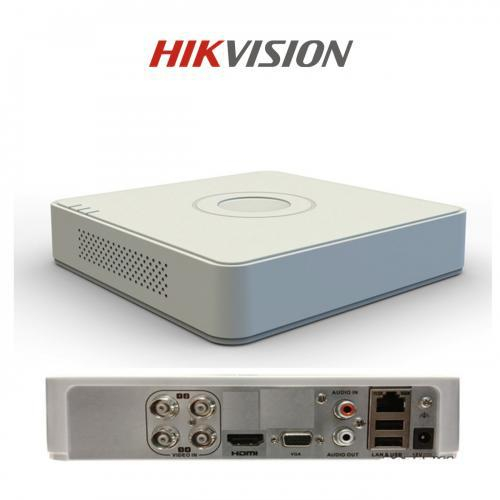DVR Hikvision DS-7104HGHI-F1, 4-ch BNC interface (1.0Vp-p, 75 Ω), 720p 0