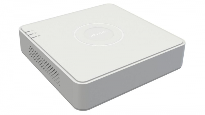 DVR Turbo HD 4 canale Hikvision DS-7104HQHI-K1(S); 4MP 0