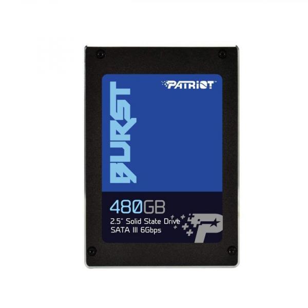 SSD Patriot Burst, 480GB, 2.5, SATA3, R/W speed: 560MS/s/540 MB/s, 7mm 1